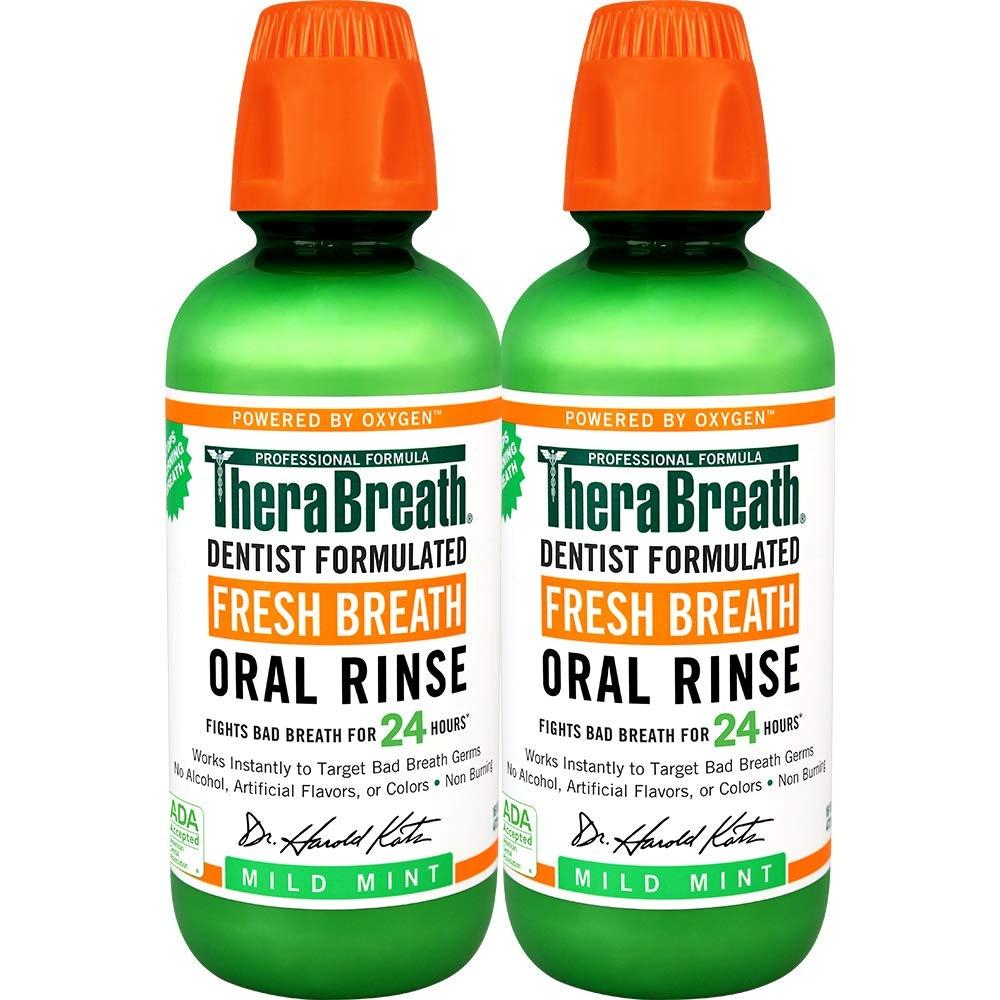 TheraBreath Fresh Breath Rinse (2-Pack)
