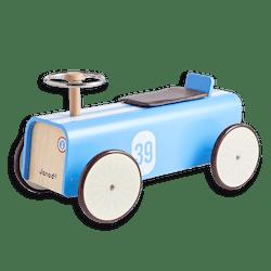 Janod Blue Car Ride-On