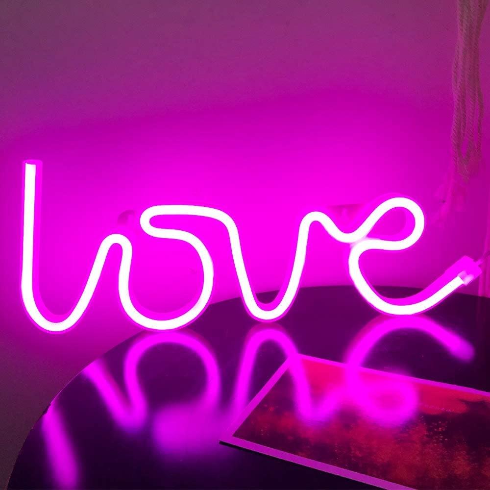 Passion Love Neon Sign