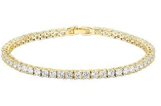 PAVOI Cubic Zirconia Tennis Bracelet