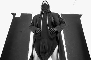 Rick Owens x Champion hoodie