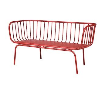Brusen Sofa Outdoor Red