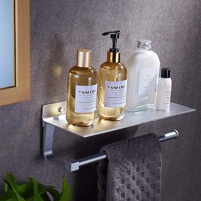 Joom Towel Holder with Shelf