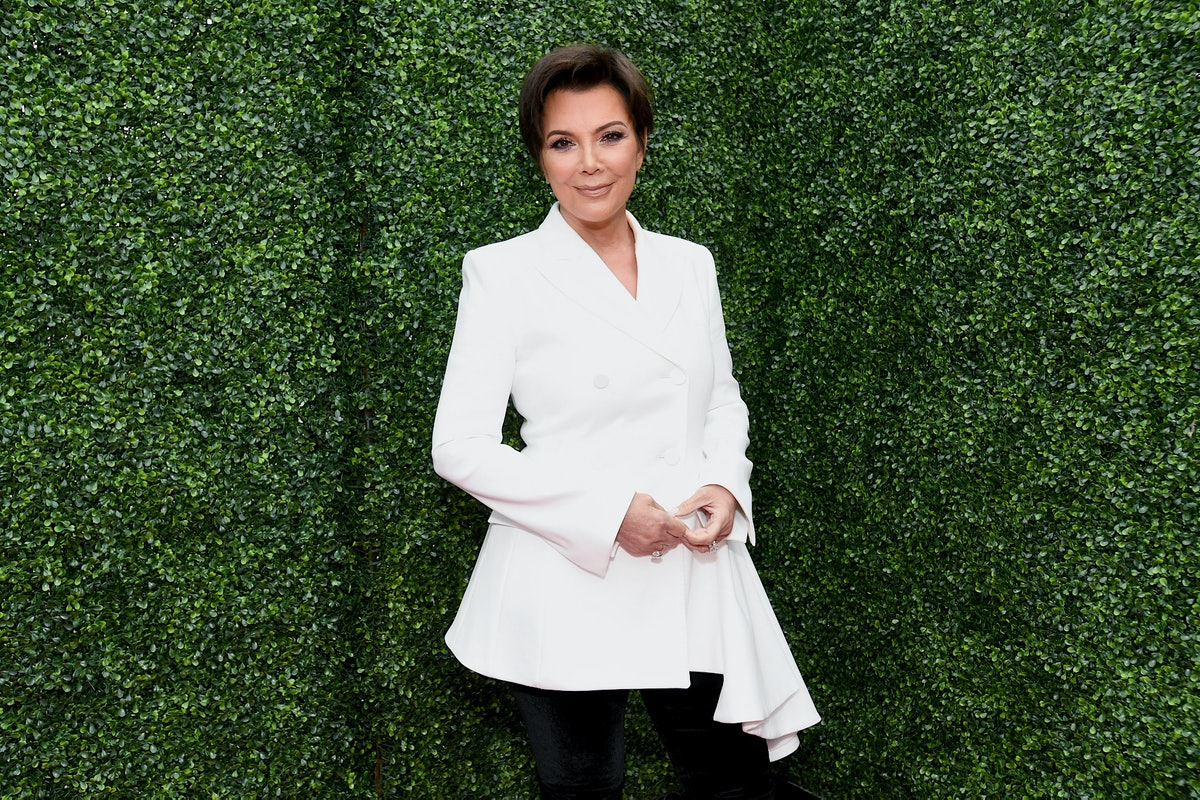 Kris Jenner at the 2018 MTV Movie And TV Awards.