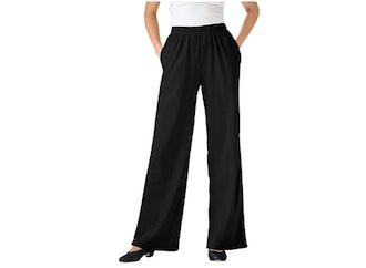 Woman Within Plus Size Wide Leg Pants