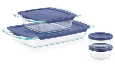 Pyrex Glass Bakeware & Food Storage Set (Set Of 4)