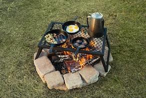 Amazon Basics Folding Campfire Grill