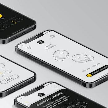 The M&D Connect app. Looks clean.