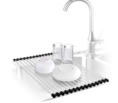 Urwanti Over The Sink Dish Drying Rack