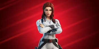 black widow fortnite epic games marvel