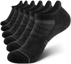 CelerSport Women's Ankle Running Socks (6-Pack)