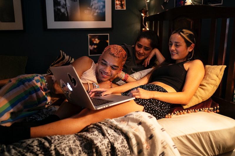 Chester, Greta, and Riley in 'Genera+ion' via HBO Max press site.
