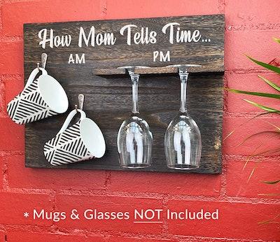 Coffee Mug & Wine Glass Holder