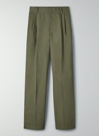 Crawford Pant in Gunmetal Green