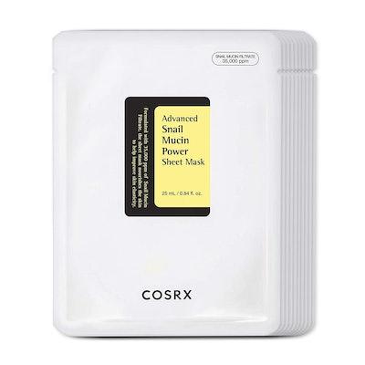 COSRX Advanced Snail Mucin Power Sheet Mask (10 Sheets)