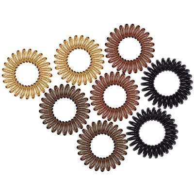 Kitsch Spiral Hair Ties (8-Pack)