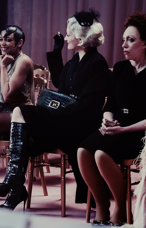 """Still from """"Do We Show"""" by Roger Vivier."""