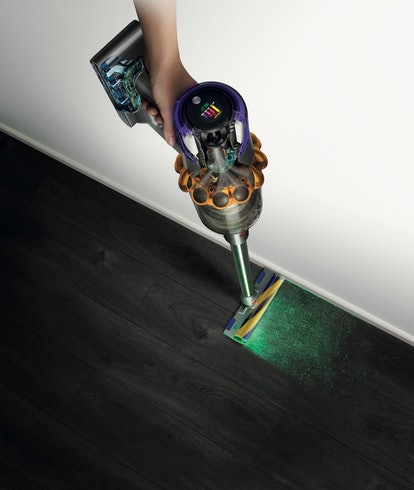 Dyson announces V15 Detect cordless vacuum with green laser for illuminating dust particles
