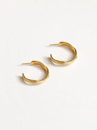 Arianna Earrings in Gold