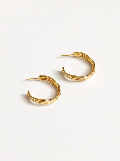 Arianna Earrings in Gold