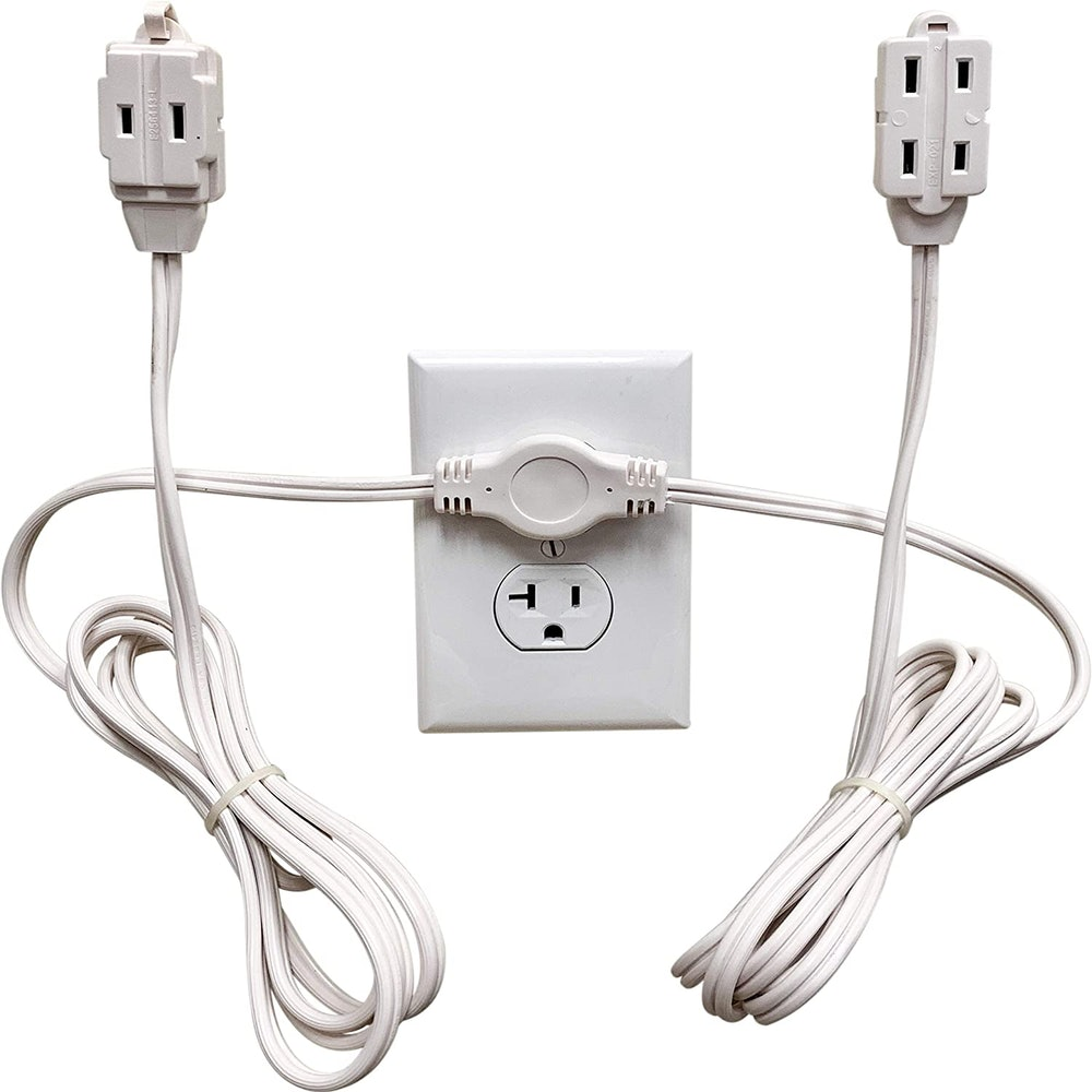 W4W Twin Extension Cord