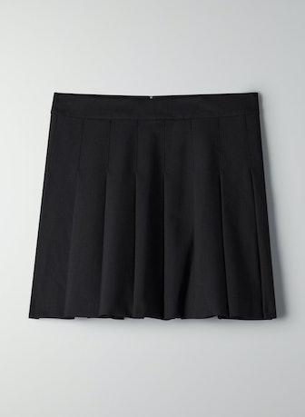 """Olive Mini 15"""" Skirt"""