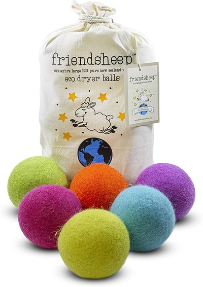 Friendsheep Wool Dryer Balls (6-Pack)