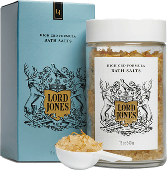 High CBD Formula Bath Salts