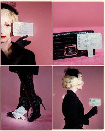 """Still from Roger Vivier's """"Do We Show"""" campaign film."""