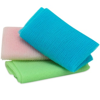 S&T Body Exfoliating Cloths (3-Pack)