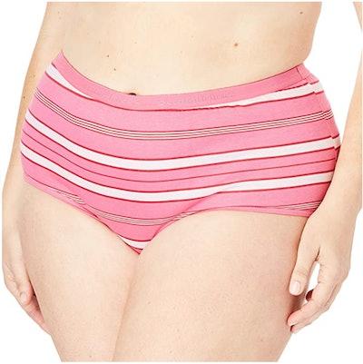 Comfort Choice Plus Size Full Brief Underwear (5-Pack)