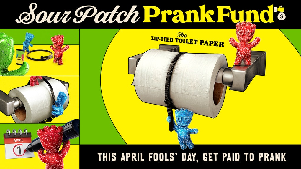 Here's how to enter Sour Patch Kids' April Fools' Day 20210 TikTok prank Contest for a chance to win.