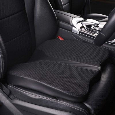 LARROUS Memory Foam Car Seat Cushion