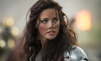 Jaimie Alexander as Lady Sif in Thor: The Dark World