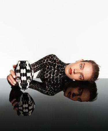 Natalia Vodianova with Bulgari Serpenti