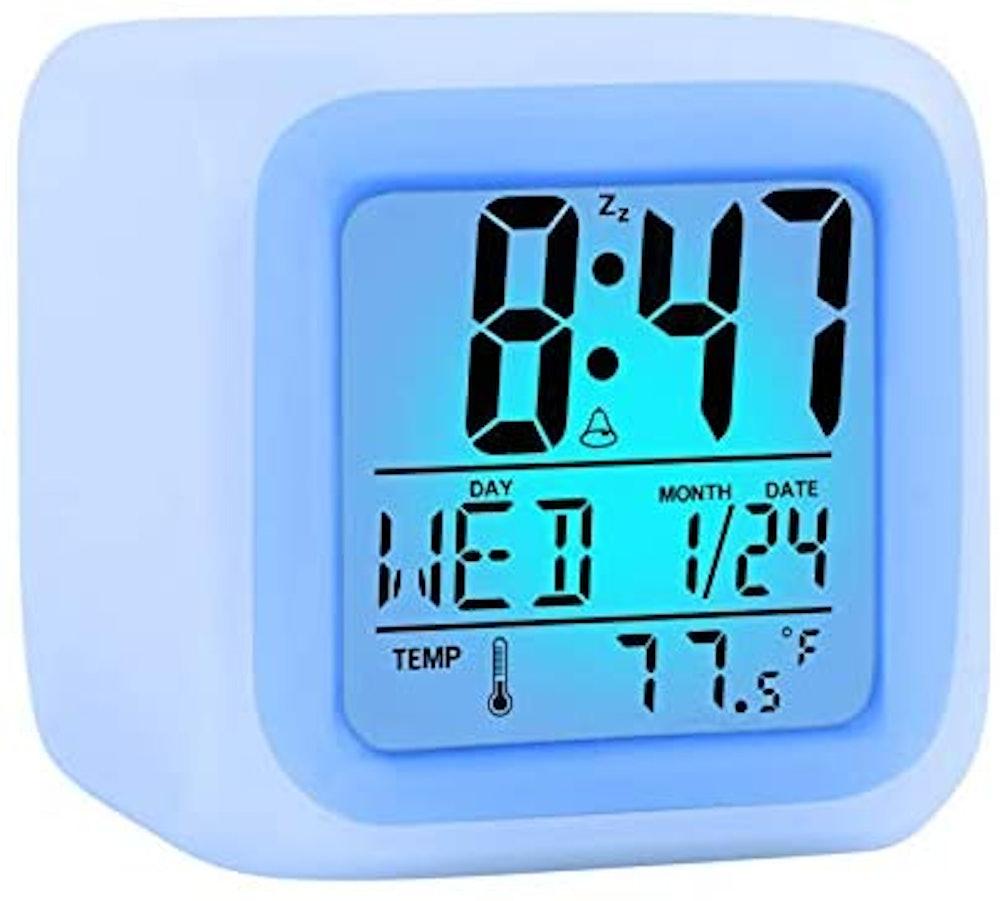 ZALIK Alarm Clock with LED Light