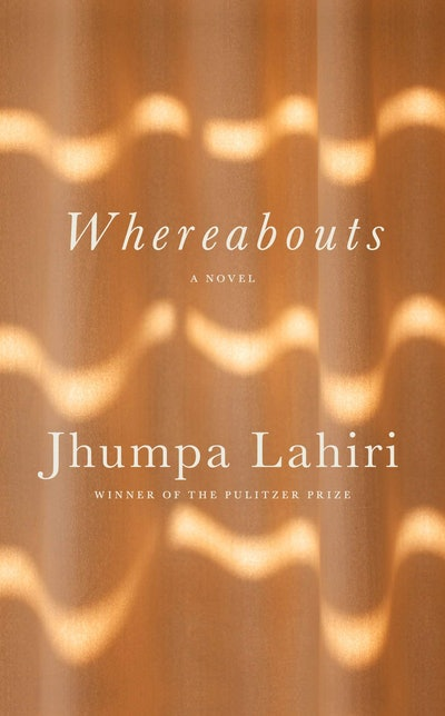 'Whereabouts' by Jhumpa Lahiri