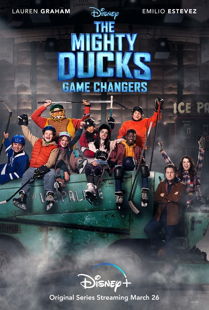 The young cast of The Mighty Ducks: Game Changers via Disney MED