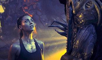 Netflix sci-fi movie skylines heist