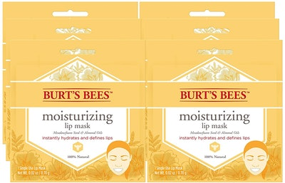 Burt's Bees Moisturizing Lip Mask (6 Pack)