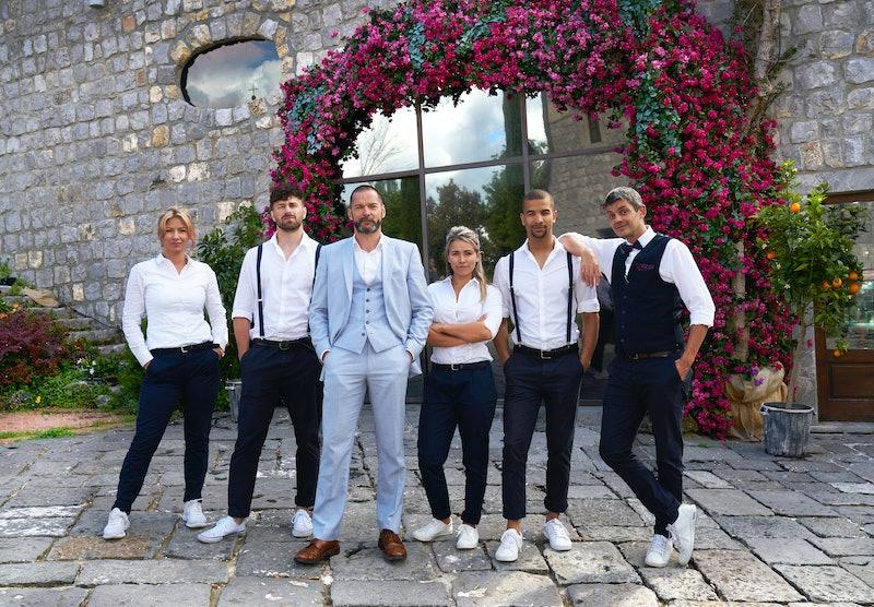 'First Dates Hotel' S6 staff