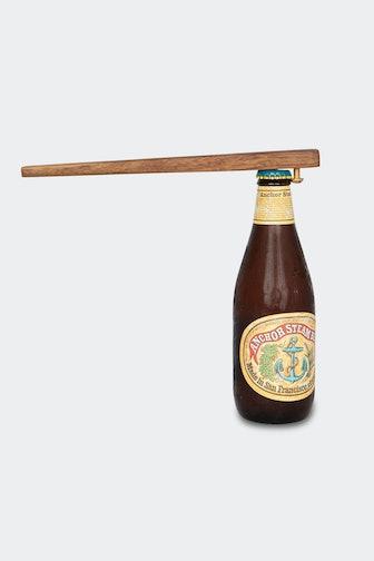 Wood + Brass Bottle Opener