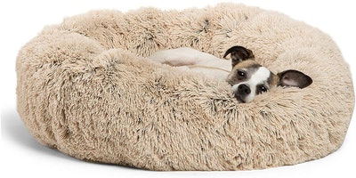 Best Friends by Sheri Calming Pet Donut Bed