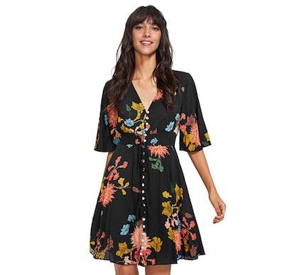 Milumia Floral Print Dress