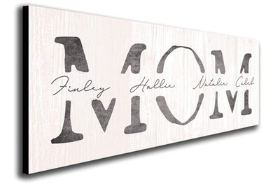 Personalized Mother's Day Gift Sign