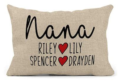 Customized Grandma Pillow