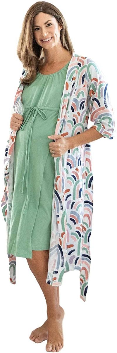 Baby Be Mine Birthing Gown & Matching Robe