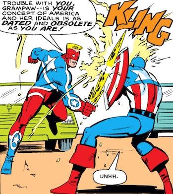 captain america vs us agent