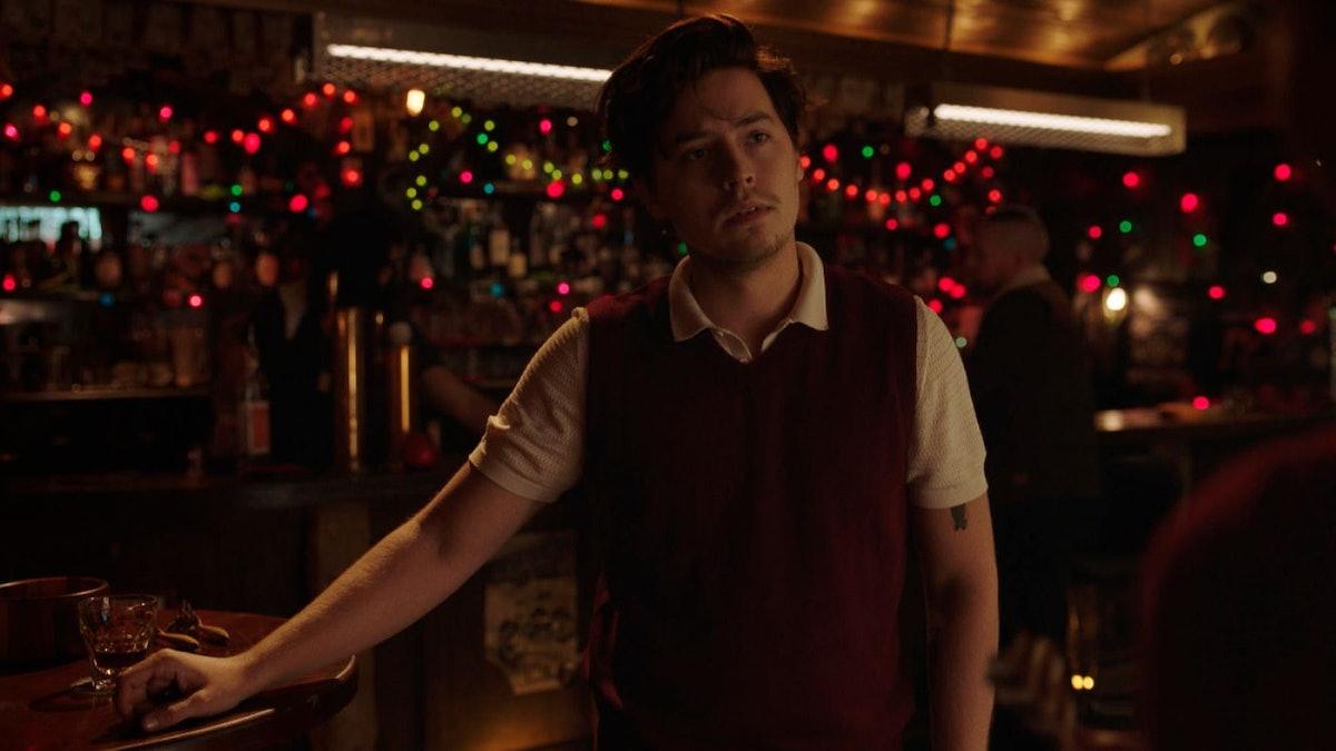 Cole Sprouse as Jughead Jones in Riverdale.