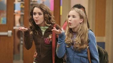 Hannah Montana Quotes; Hannah and Lilly blowing kisses